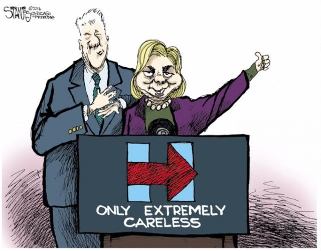 Hillary Clinton - Extremely Careless